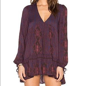 Free People Down By The Bay Boho Tunic XS